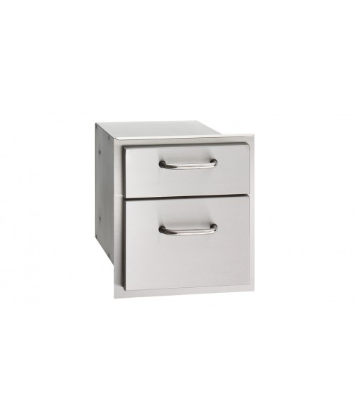 """American Outdoor Grill 16""""x15"""" Double Drawer"""