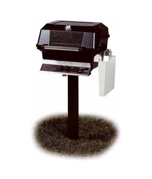 MHP Heritage Series JNR4DD In-Ground Post Gas Grill (506 sq in)