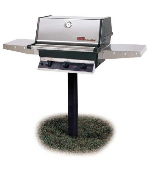 MHP Heritage Series TRG2 Infrared In-Ground Post Gas Grill (574 sq in)