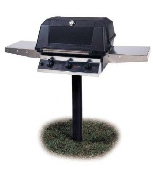 MHP Heritage Series WHRG4DD Infrared In-Ground Post Gas Grill (574 sq in)