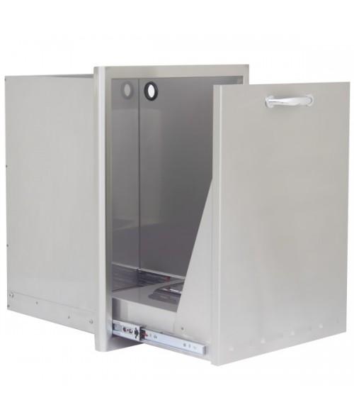 Blaze 18-Inch Roll Out Trash/Propane Tank Storage Drawer