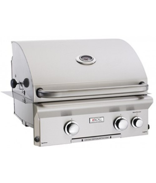 "AOG L Series 24"" Built-In Gas Grill w/ Rotisserie"