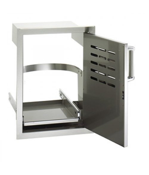 Premium Single Access Door with Louvers & Tank Tray