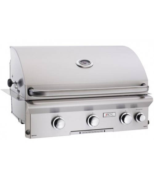 "AOG L Series 30"" Built-In Gas Grill w/ Rotisserie"