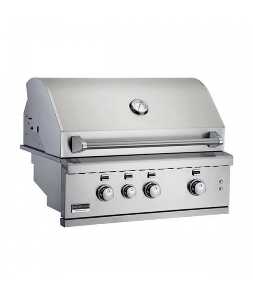 "Broilmaster 34"" Stainless Steel Built-in Gas Grill"