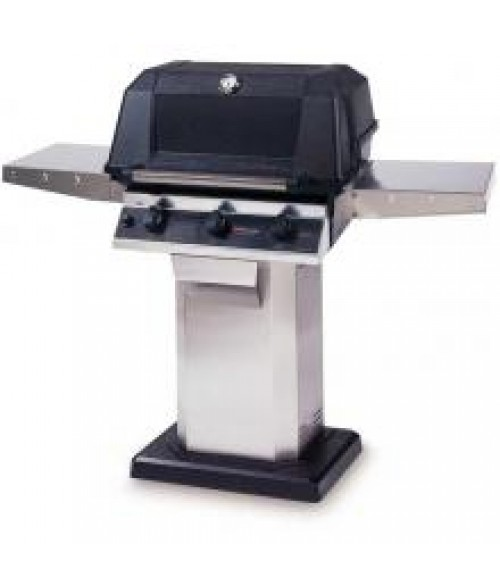 MHP Heritage Series WRG4DD Infrared Column and Base Gas Grill (574 sq in)