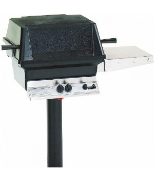 PGS A30 Cast Aluminum Gas Grill On In-Ground Post (451 sq in)