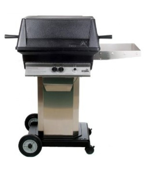 PGS A30 Cast Aluminum Gas Grill On Portable Pedestal Base  (451 sq in)