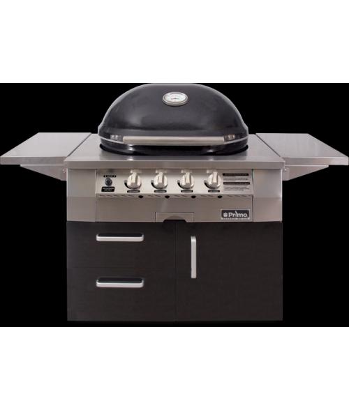 primo oval g420 ceramic gas grill - Primo Grills
