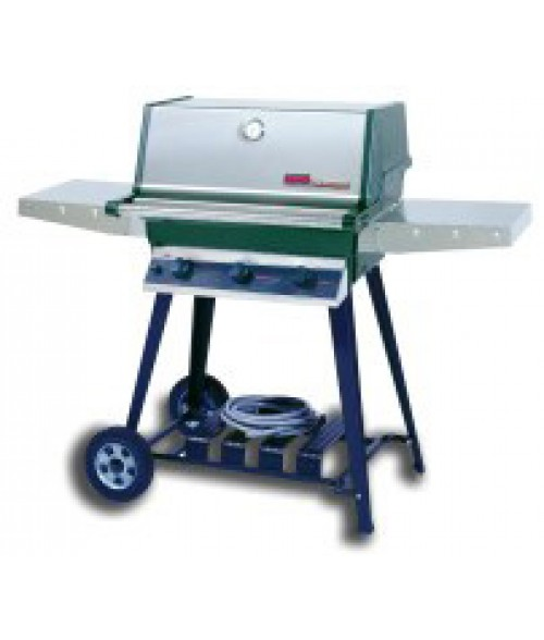 MHP Heritage Series THRG2 Hybrid Gas Grill on Cart (574 sq in)