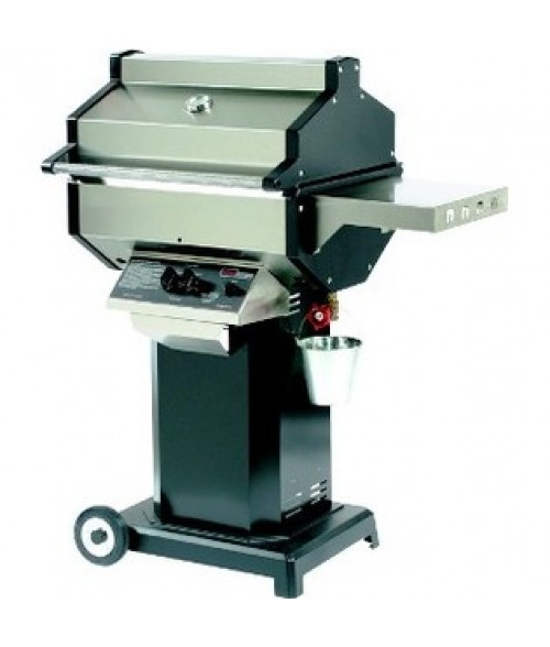 Phoenix SDBOC Gas Grill - Black Column Wheeled Base Mount (400 sq in)