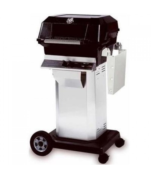 MHP Heritage Series JNR4DD Gas Grill w/ Column and Cart (506 sq in)