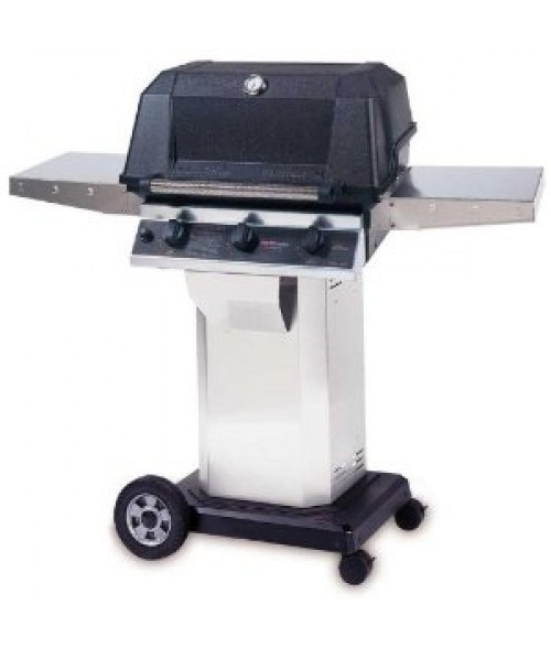 MHP Heritage Series WRG4DD Infrared Gas Grill w/ Column and Cart (574 sq in)