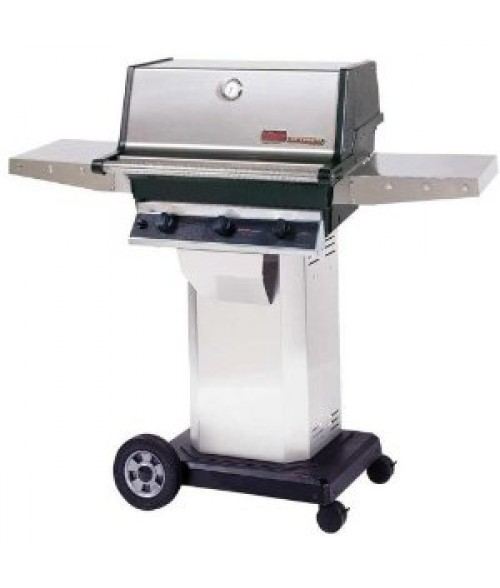 MHP Heritage Series TRG2 Infrared Gas Grill w/ Column and Cart (574 sq in)