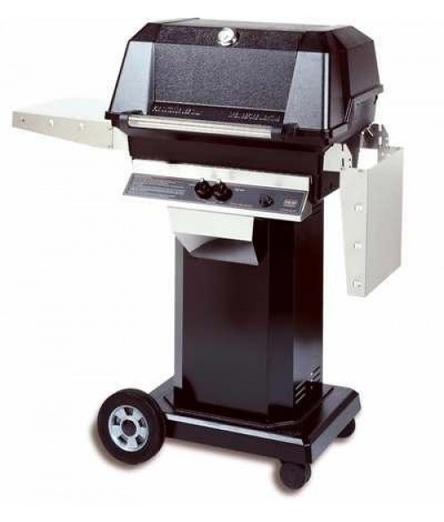 MHP Heritage Series WNK4DD Gas Grill w/ Column and Cart (642 sq in)