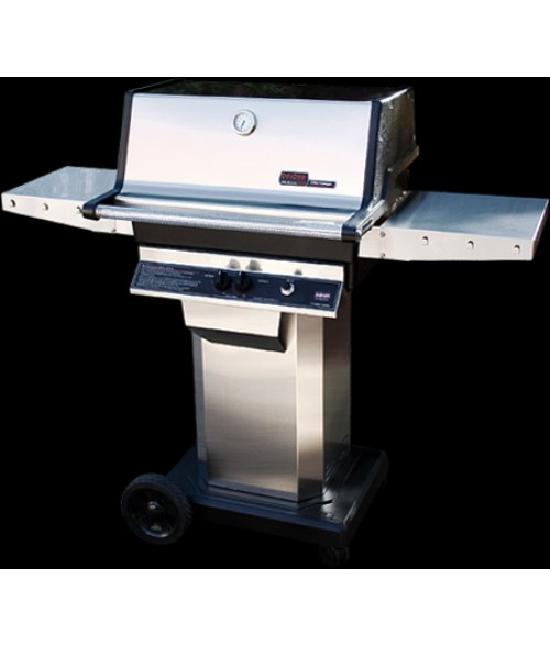 MHP Heritage Series TJK2 Gas Grill w/ Column and Cart (642 sq in)