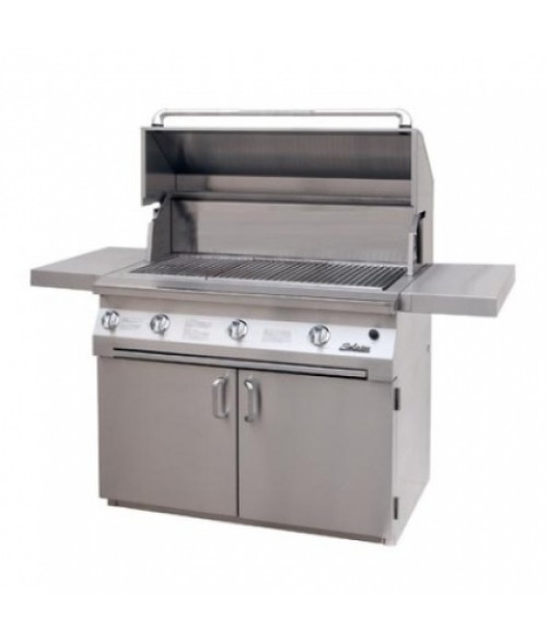 "Solaire 42"" All Infrared Gas Grill on Cart IRBQ-42C (1027 sq in)"