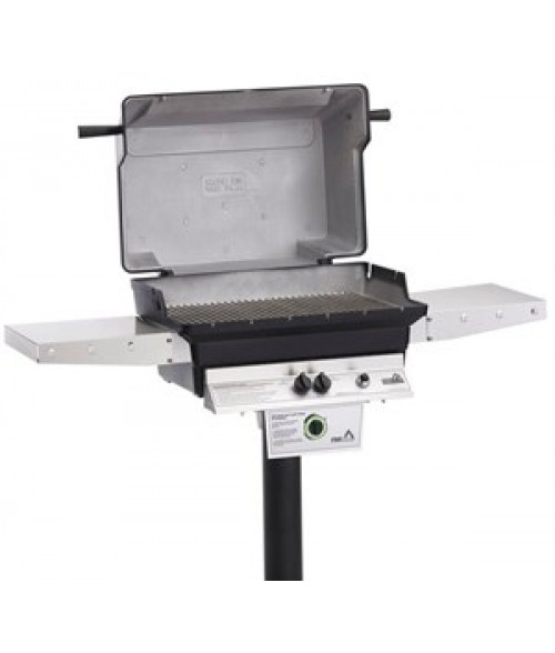 PGS A40 Cast Aluminum Gas Grill On In-Ground Post  (612 sq in)