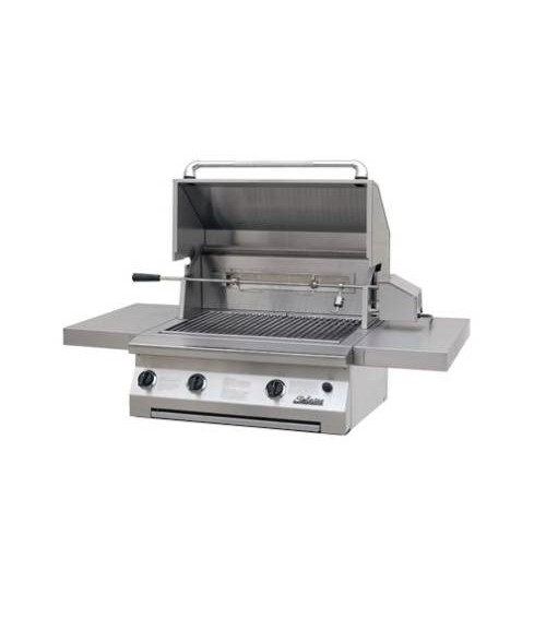 "Solaire 30"" Built-In All Infrared Gas Grill W/ Rotisserie AGBQ-30IR (703 sq in)"