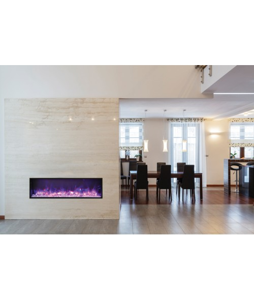Amantii Panorama 50″ Slim Indoor or Outdoor Electric Fireplace