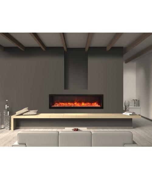 Amantii Panorama 60″ Deep Indoor or Outdoor Electric Fireplace