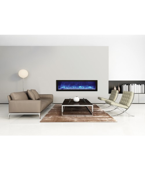 Amantii Panorama 60″ Slim Indoor or Outdoor Electric Fireplace