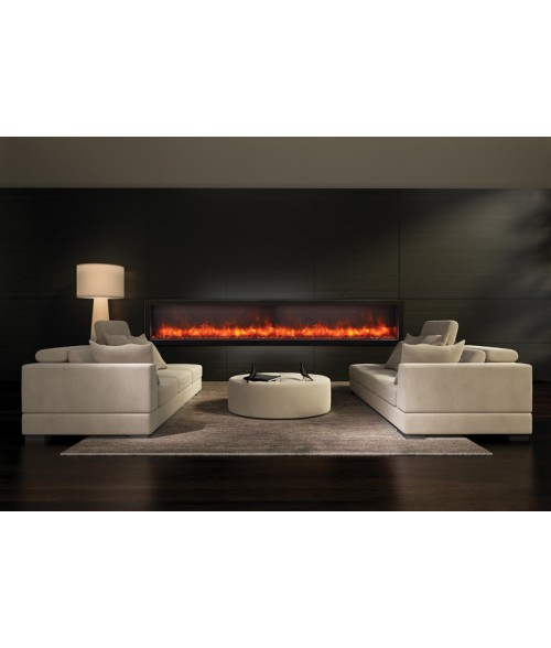 Amantii Panorama 88″ Deep Indoor or Outdoor Electric Fireplace