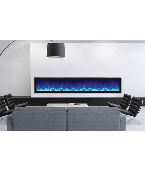 Amantii Panorama 88″ Slim Indoor or Outdoor Electric Fireplace