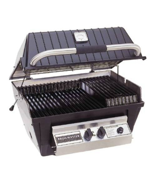 Broilmaster P4-X Premium Gas Grill with Charmaster Briquets (473 sq in.)