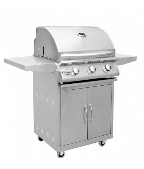 Summerset Sizzler 26″ Stainless Steel Gas Grill on Cart