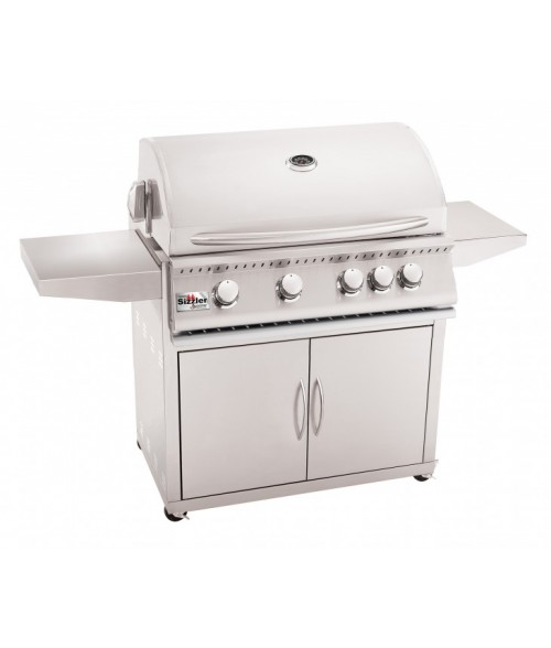 Summerset Sizzler 32″ Stainless Steel Gas Grill on Cart