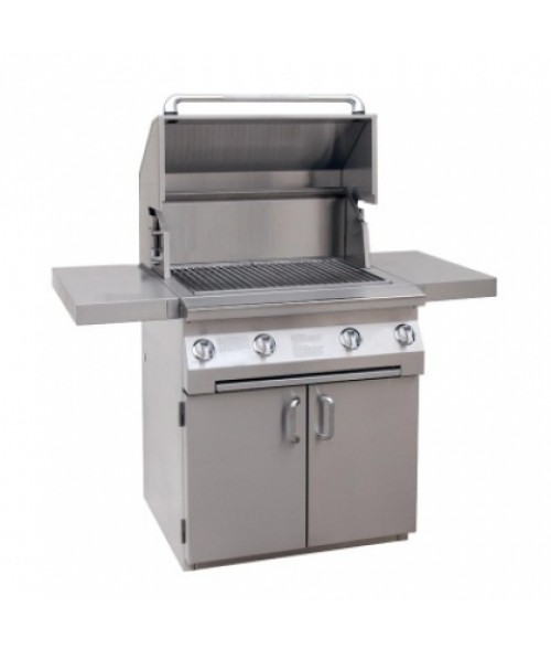 "Solaire 30"" Built-In All Infrared Gas Grill on Cart IRBQ-30C (703 sq in)"