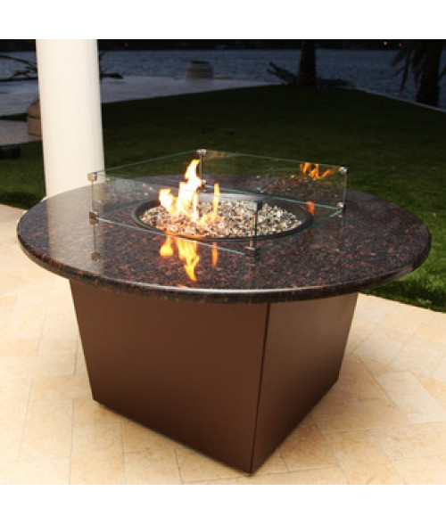 """Firetainment Riviera 48"""" Round Fire Table"""