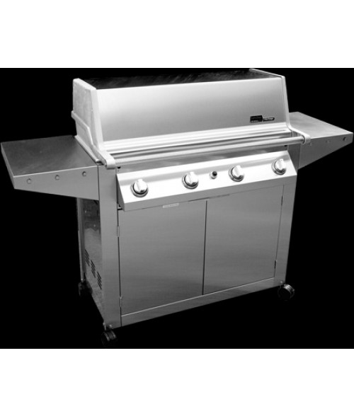 MHP Heritage Series GHJK3 Hybrid Gas Grill on Cart (902 sq in)