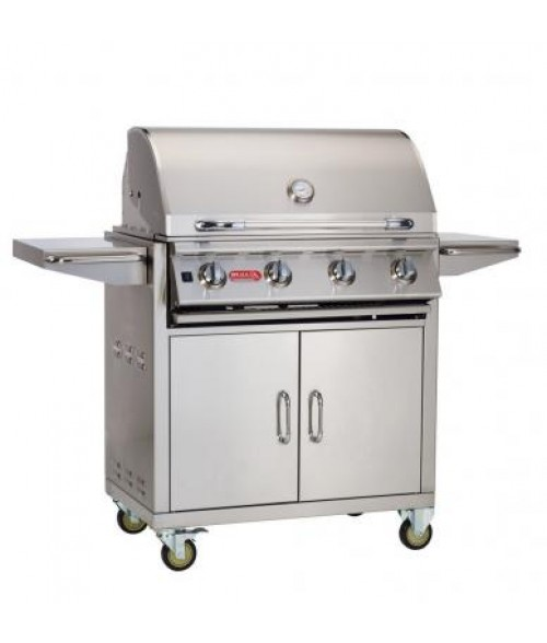 "Bull 30"" Lonestar Grill on Cart"