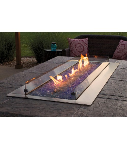 """Empire Carol Rose Collection Linear Fire Pit (48"""" or 60"""")"""