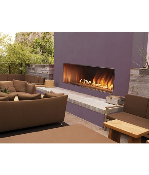 """Empire Carol Rose Outdoor Vent-free Linear Fireplace (48"""" or 60"""")"""