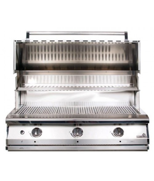 "PGS Legacy Pacifica Gourmet 36"" Built-In Gas Grill w/ Infrared Rear Burner & Rotisserie (1004 sq in)"