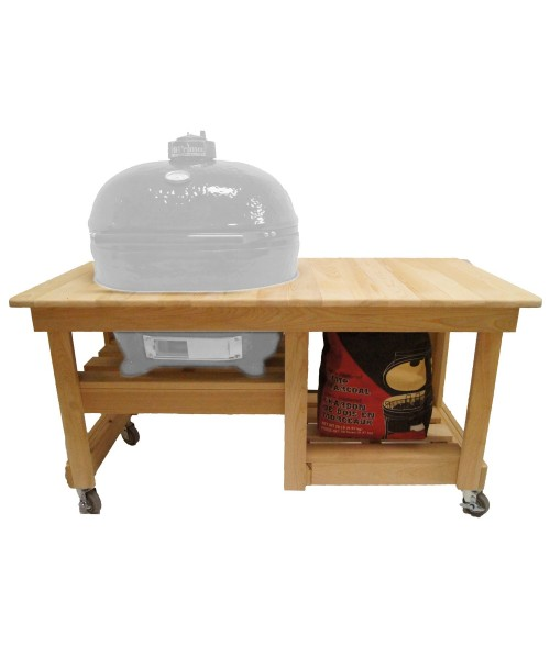 Primo Cypress Counter Top Caddie for Primo Smokers (all sizes) Table Only