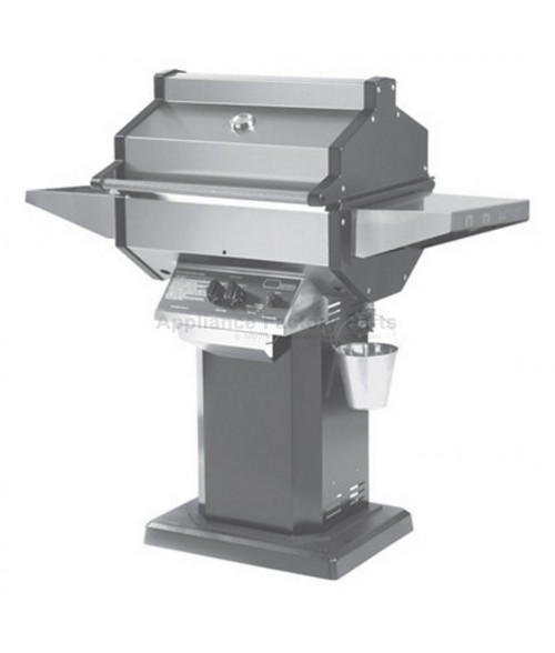 Phoenix SDBOP Gas Grill - Black Column Patio Base Mount (400 sq in)