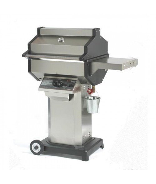Phoenix SDSSOC Gas Grill - Stainless Steel Column Wheeled Base Mount (400 sq in)