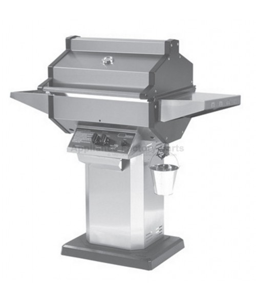 Phoenix SDSSOP Gas Grill - Stainless Steel Column Patio Base Mount (400 sq in)