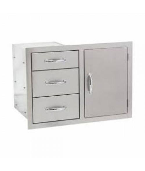 Summerset Grills Door3-drawer Combo