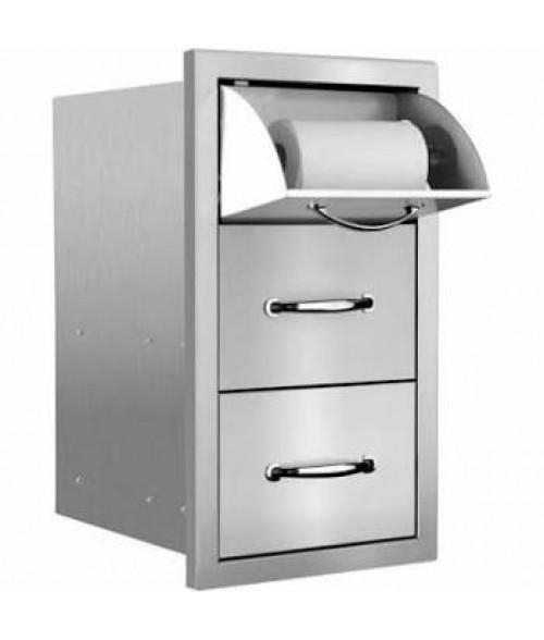 Summerset Grills Masonry Towel2-drawer Combo
