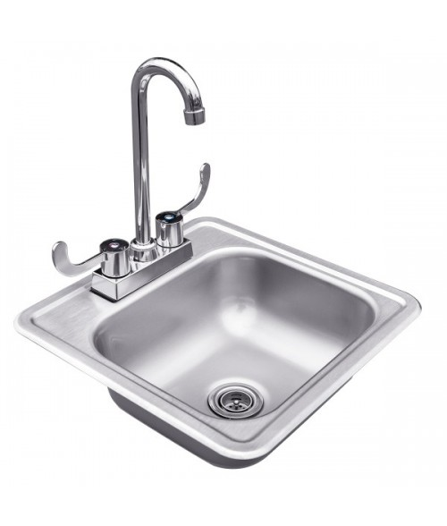 "Summerset 15"" Sink and Faucet"